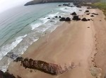 Aerial Video of Sango Sands in Durness