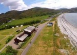 Aerial Video of of Ardmair Point with a Crash