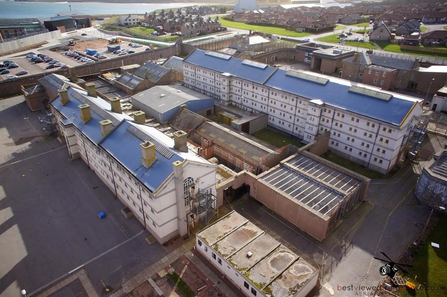 Aerial Pictures | HMP Peterhead | Peterhead | Aberdeen