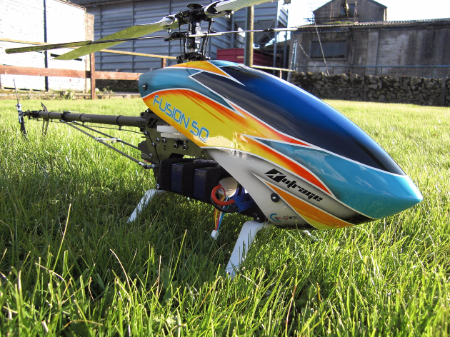 Outrage Fusion 50 12 Cell Electric Full 3D Helicopter