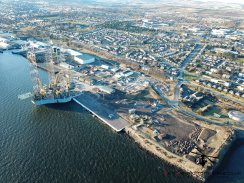 Aerial Picture of the Port of Dundee (Dundee Harbour)