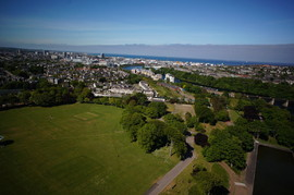 Aerial Picture of Aberdeen/Duthie Park