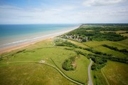 Aerial Picture of Normandy Beach