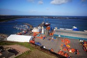 Aerial Picture of Peterhead Harbour
