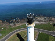 Aerial Photo of Aberdeen Light House