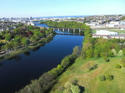 Aerial Picture of the River Dee