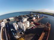 Pocra Quay, Aberdeen Harbour Aerial Picture