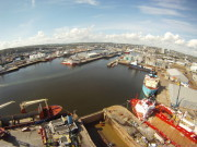 Aerial Pictures of Pocra Quay Aberdeen Harbour