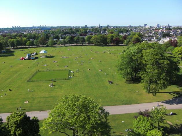 Duthie Park, Aberdeen