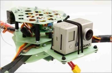 Quadframe.com Foldable Tricopter