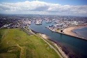 Aerial Pictures of Aberdeen Harbour