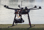 DJI S800 Airframe with Zenmuse Z15n Gimbal