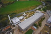 Aerial Pictures of the Old Inverurie Paper Mill