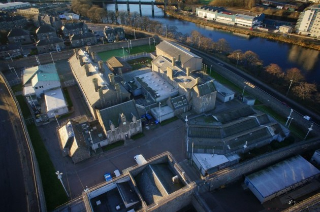Aerial Picture of the now closed Craiginches Prison