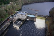 Aerial Pictures of Pitlochry Dam