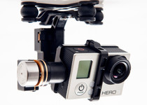 Gopro Hero Black 3 Plus on the DJI Zenmuse H3-2D