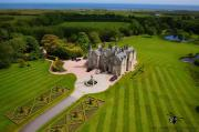 Aerial Picture of Menie House within Trump Golf Course