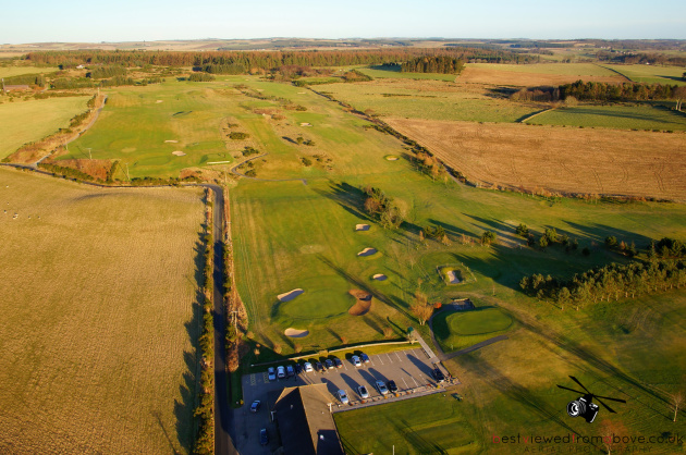 Aerial Picture of Kintore Golf Course sited in Aberdeenshire