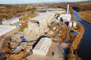 Aerial Pictures of Inverurie Papermill - Demolition