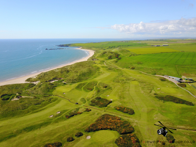 Aerial Picture of Cruden Bay Golf Club