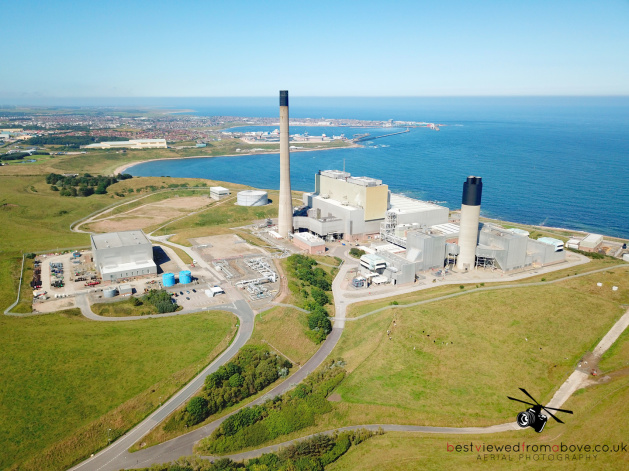 Aerial Picture of Peterhead Power Station