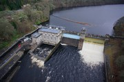 Aerial Picture of Pitlochry Dam