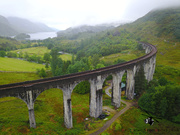 Aerial Picture of Glenfinnan Viaduct