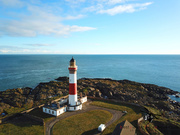 Buchan Ness Lighthouse, Boddam, Aberdeenshire