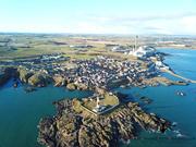 Buchan Ness Lighthouse, Boddam, Aberdeenshire