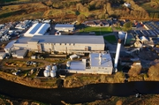 Aerial Picture of Inverurie Paper Mill