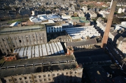 Aerial Picture of Richards Textile Factory