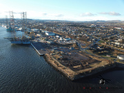 Aerial Picture of the Port of Dundee