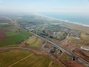 Aerial Picture of the AWPR Section at Balmedie