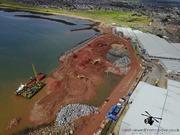 Aerial Picture of Peterhead Harbour Development