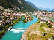 Aerial Picture of Interlaken, Switzerland